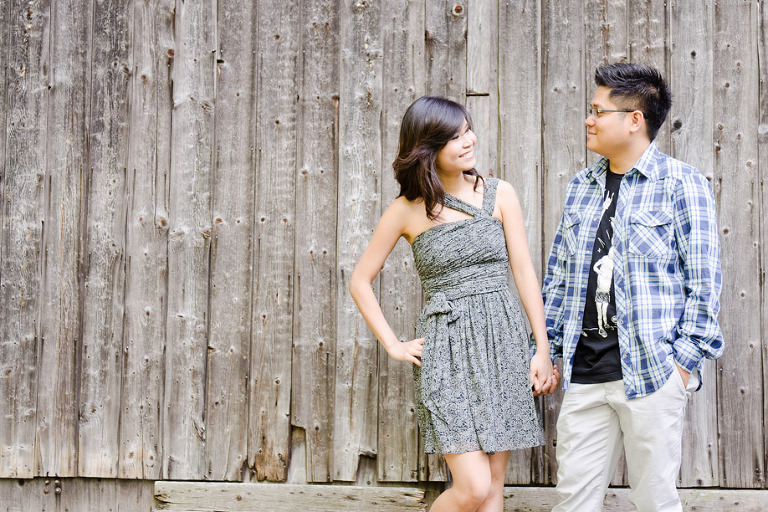 th0095(pp w768 h512) Mississauga Engagement Photography  |  Adamson Estate  |  Hoang & Truong