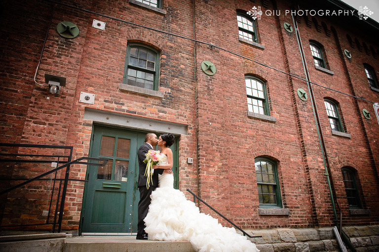 Toronto Distillery District Wedding 01(pp w768 h512) Toronto Wedding Photography | Distillery District, Berkeley Field House, St. Stephens Church | Alba & Avi