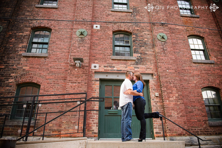 Toronto Wedding Engagement Photography Distillery District 0001(pp w768 h512) Toronto Wedding Photography | Distillery District Engagement Session | Velimirka and Vlad