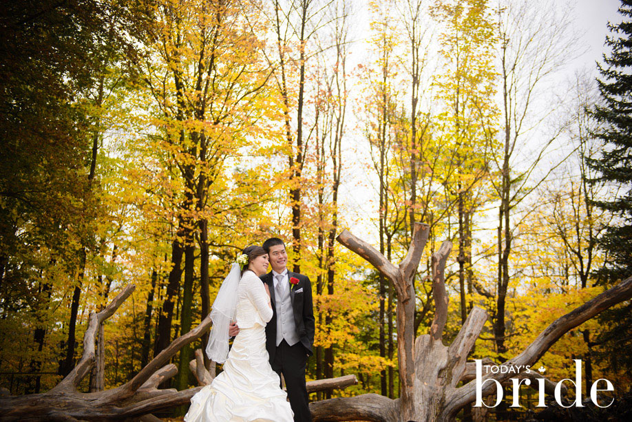 Edwards Gardens Toronto Wedding Featured on Todays Bride | Todays Bride | Shangri la Banquet Hall & Convention Centre | Janice & Patrick