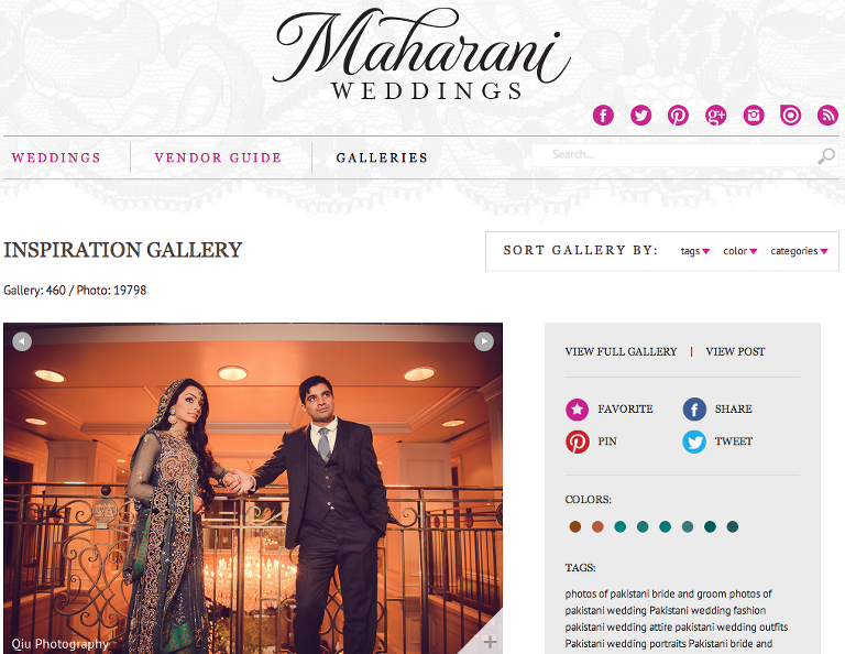 Screen Shot 2014 04 28 at 7.30.35 AM(pp w768 h594) Featured on Maharani Weddings | Toronto South Asian Wedding Photography | Apollo Convention Centre | Versailles Convention Centre | Fatima and Ali