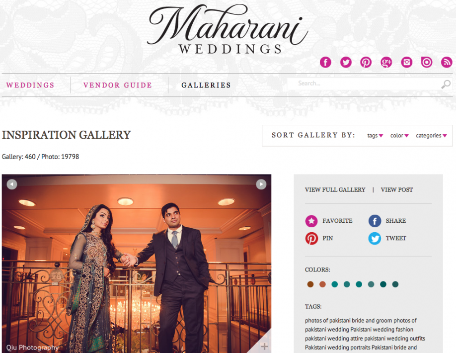 Screen Shot 2014 04 28 at 7.30.35 AM Featured on Maharani Weddings | Toronto South Asian Wedding Photography | Apollo Convention Centre | Versailles Convention Centre | Fatima and Ali