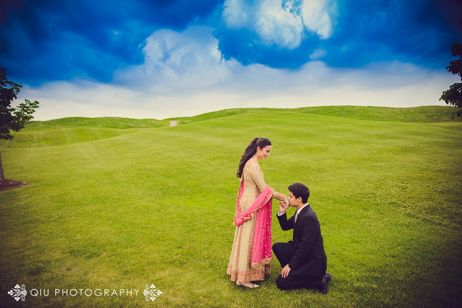 BraeBen Golf Course Mississauga Engagement 1 Mississauga Engagement Photography | BraeBen Golf Course | Naveen and Asad