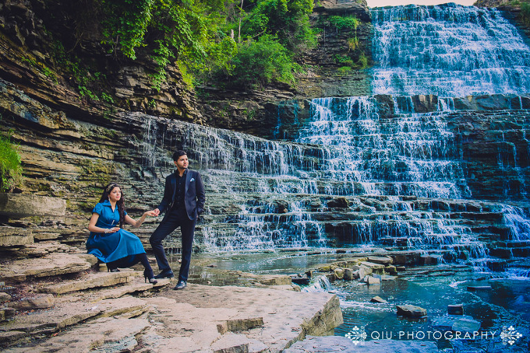 DSC 3623 1(pp w768 h512) Toronto Engagement Photography | Waterfall Engagement Session | Zainab and Samad