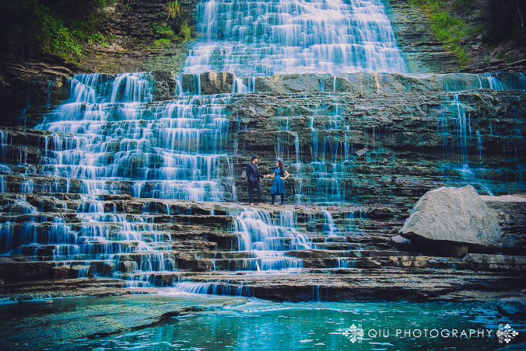 DSC 3705 1(pp w768 h512) Toronto Engagement Photography | Waterfall Engagement Session | Zainab and Samad