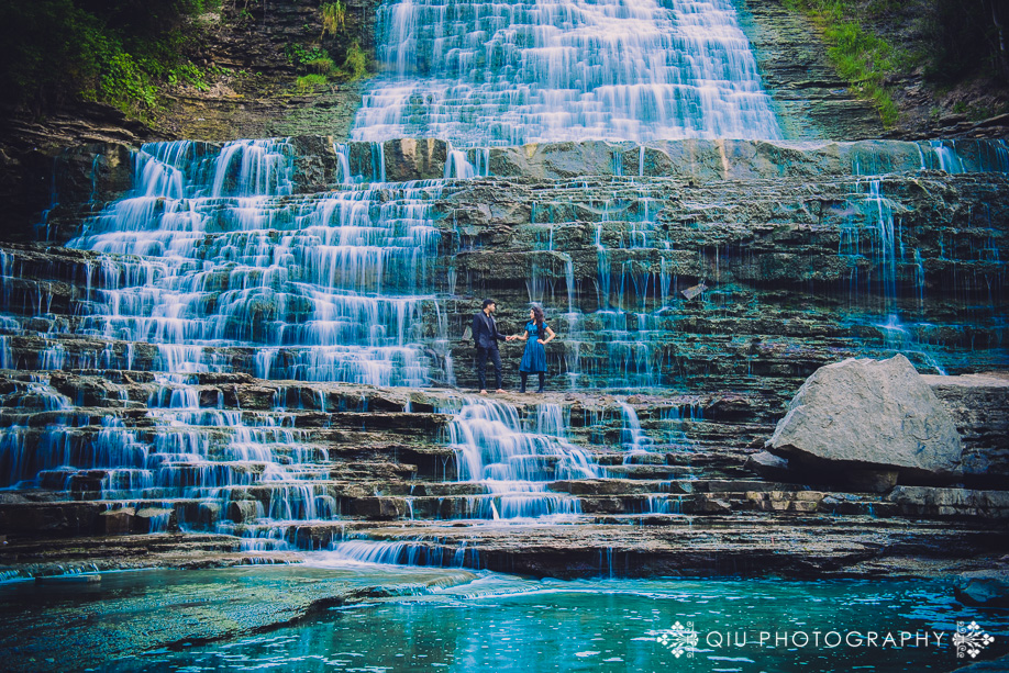 DSC 3705 1 Toronto Engagement Photography | Waterfall Engagement Session | Zainab and Samad