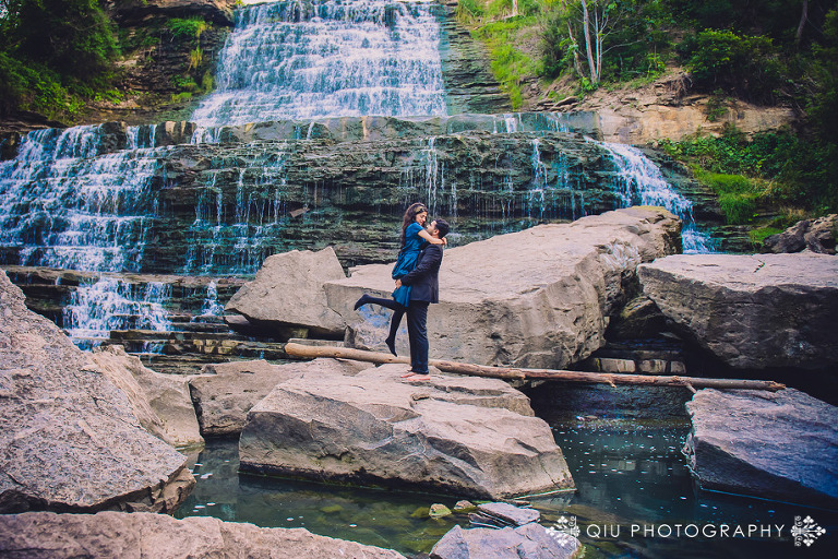 DSC 3738 13(pp w768 h512) Toronto Engagement Photography | Waterfall Engagement Session | Zainab and Samad