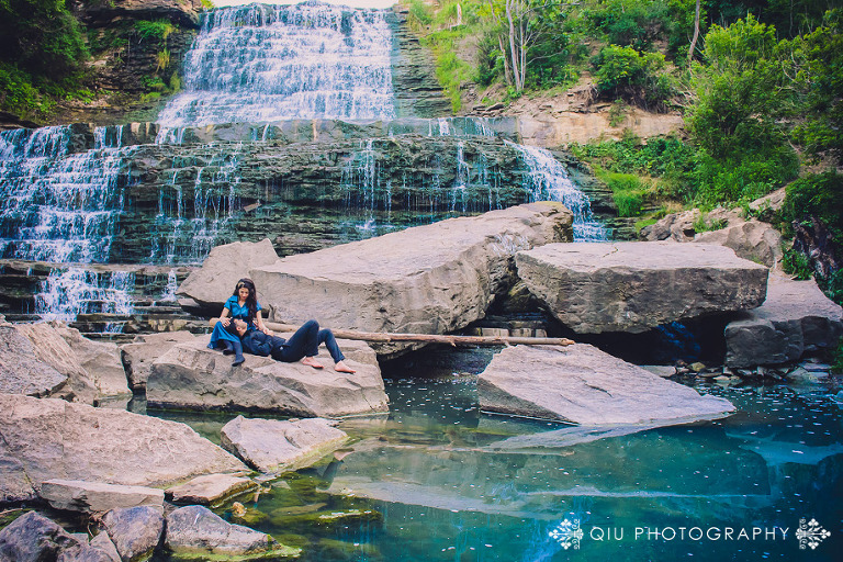 DSC 3757 11(pp w768 h512) Toronto Engagement Photography   Waterfall Engagement Session   Zainab and Samad