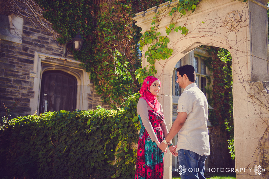 McMaster University Engagement SA 002 Toronto Engagement Photography | McMaster University Engagement Session | Sadaf and Ashar