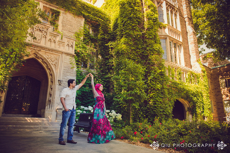 McMaster University Engagement SA 003(pp w768 h512) Toronto Engagement Photography | McMaster University Engagement Session | Sadaf and Ashar