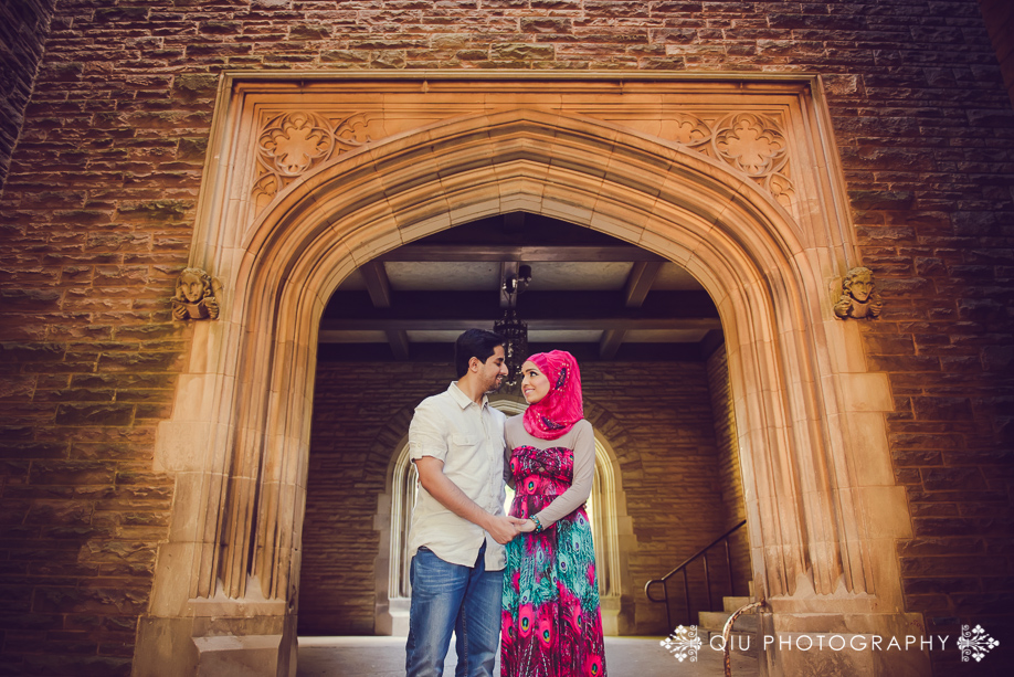 McMaster University Engagement SA 004 Toronto Engagement Photography | McMaster University Engagement Session | Sadaf and Ashar