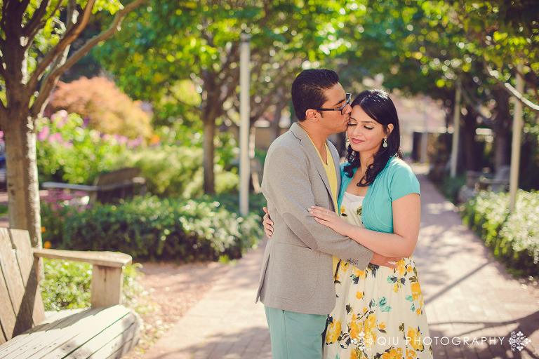 Mississauga Engagement Photography Civic Centre RM 003(pp w768 h512) Mississauga Engagement Photography | Mississauga Civic Centre | Queen Elizabeth II Jubilee Garden | Rohma and Masud