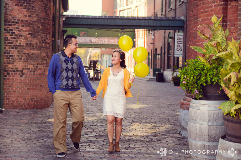 Toronto Engagement Photography Distillery District SG 0011(pp w768 h512) Toronto Engagement Photography | Distillery District | Sandy & Gavin
