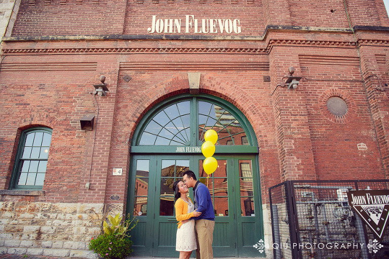 Toronto Engagement Photography Distillery District SG 002(pp w768 h512) Toronto Engagement Photography | Distillery District | Sandy & Gavin