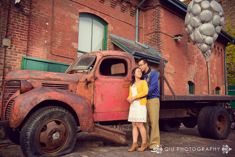 Toronto Engagement Photography Distillery District SG 0081(pp w768 h512) Toronto Engagement Photography | Distillery District | Sandy & Gavin