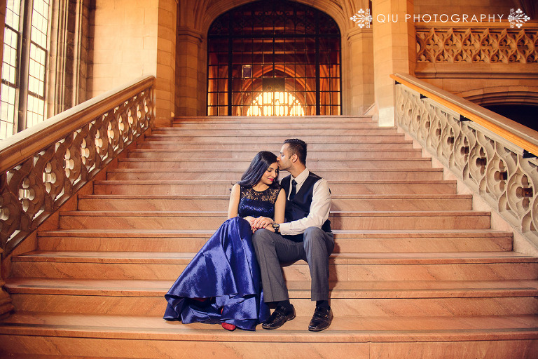 Toronto Indian Wedding Photography University of Toronto PF018(pp w768 h512) Toronto Engagement Photography | Priya & Fenil