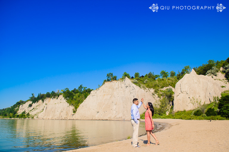 Scarborough Bluffs Engagement Photography AA 004(pp w768 h512) Toronto Engagement Photography | Scarborough Bluffs Park | Amanda & Ashan