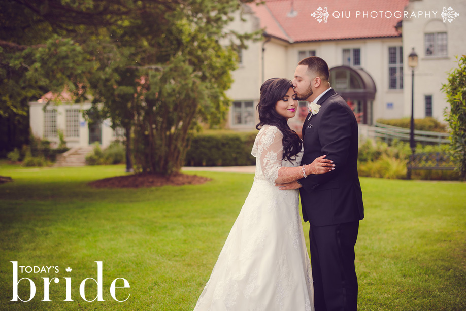 WebsiteNN Featured on Todays Bride | Natasha & Nasims Wedding at Woodbine Banquet Hall