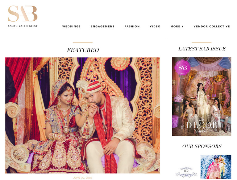 SAB FA Wedding(pp w768 h584) Feature on South Asian Bride | Farzana & Ashrafs Wedding at Woodbine Banquet Hall