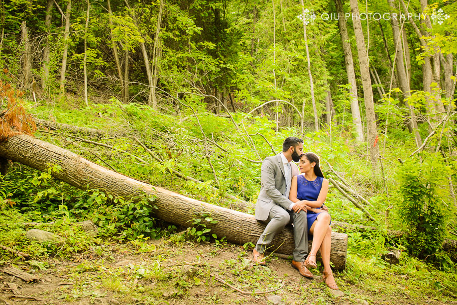 Toronto Engagement Photography Belfountain Conservation Area KG07 Toronto Engagement Photography | Belfountain Conservation Area | Karan & Gurjeet