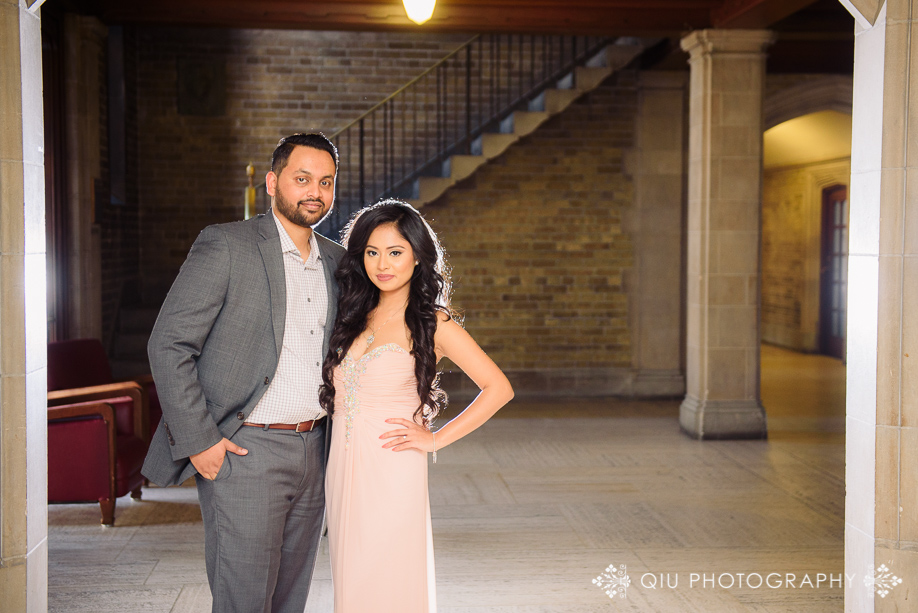 UofT eshoot AT03 Toronto Engagement Photography | University of Toronto Hart House | Annika & Taz