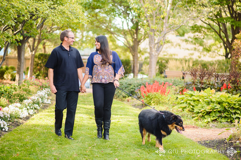 Mississauga Engagement Photography Queen Elizabeth Jubilee Garden MR04(pp w768 h512) Mississauga Engagement Photography | Queen Elizabeth II Jubilee Garden | Mississauga Civic Centre | Michelle & Robert