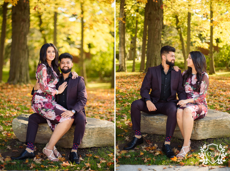 Toronto South Asian Engagement Photography Guildwood Park AA002(pp w768 h572) Toronto Engagement Photography | Guild Park and Gardens Scarborough | Anum and Affan